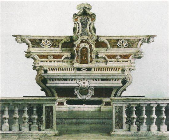 Altare N. S. di Montallegro. Viganego di Bargagli
